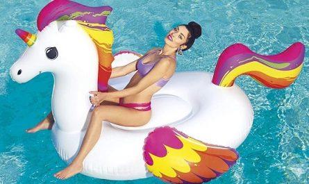 Unicornio insuflavel para piscina praia