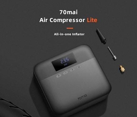 Compressor de ar Xiaomi 70mai Lite a 31,28€ desde Espanha