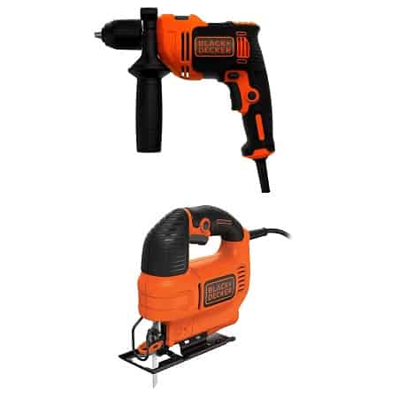 Pechincha Amazon! Berbequim Black+Decker por 27,99€ e Tico-Tico por 31,19€