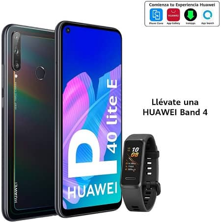 Super preço Amazon! Huawei P40 Lite + Huawei band 4 por 139,00€