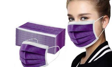 Mascara tecido descartavél barata