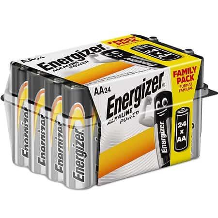 Desconto Amazon! 24 Pilhas Energizer E91 AAA a 9,38€*