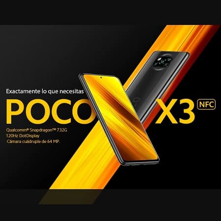 POCO X3 NFC 6/64GB por 168,87€ e o de 6/128GB por 203,16€