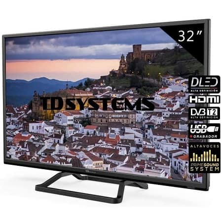 Rebaixa Amazon! TV LED TD Systems K32DLM7H de 32″ a 119,00€