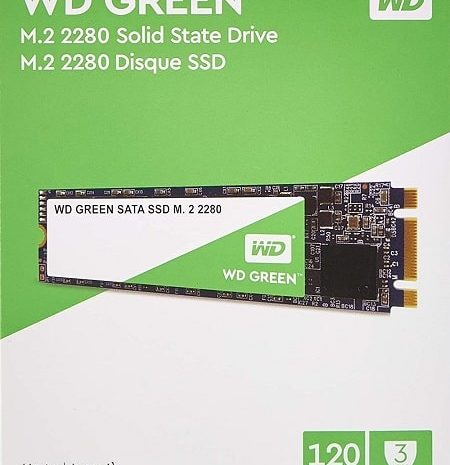 Oferta Amazon! WD Green SSD M.2 de 120 GB por 20,89€