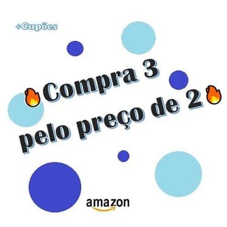 Nova Promoção Amazon compra 3 paga 2 em dezenas de artigos