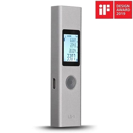 Oferta Flash! Medidor de distancias DUKA LS-1 a 13,6€ com envio rápido desde Espanha