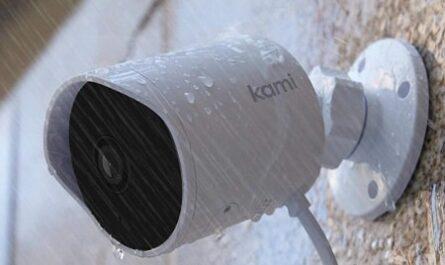 Kami-camara-de-segurança-exterior
