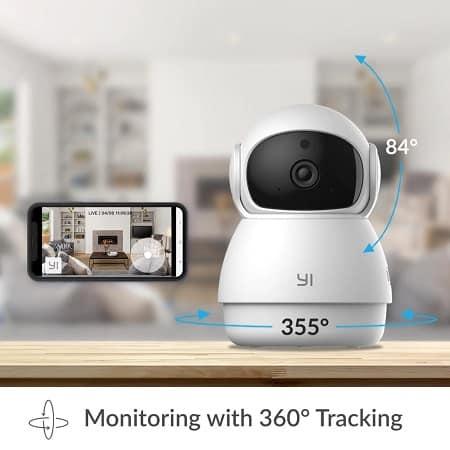Xiaomi Yi Dome Guard 1080P 20fps desde Espanha a 20,65€