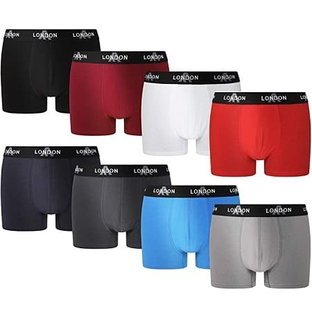 Pechincha Amazon! Pack de 8 Boxers London Fitted só 19,99€