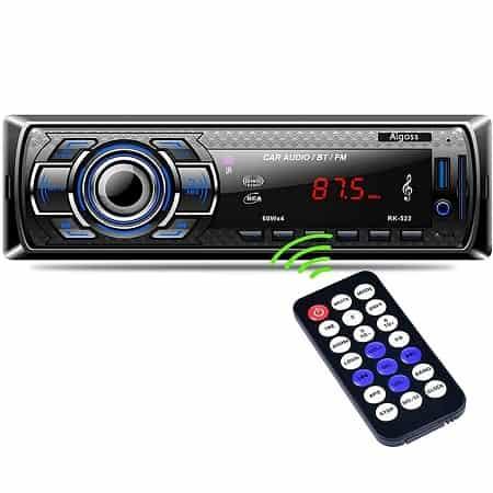 Auto-radio 60Wx4, USB, bluetooth, comando, desde Espanha apenas 14,44€
