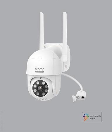 Câmara Exterior Xiaovv-P1 HD 1080P IP65 visão noturna a 29,53€
