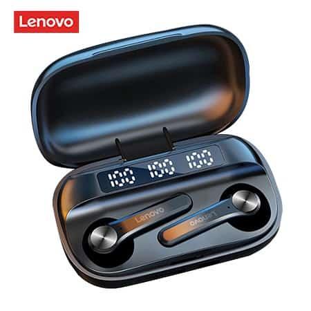 Auriculares Lenovo QT81 TWS Autonomia 30hrs por 12,25€