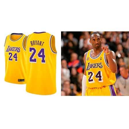 Oferta Amazon! T-Shirt Kobe Bryant por 21,99€ com Envio Gratuito