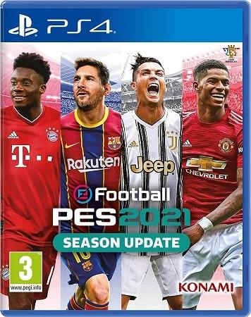 Desconto Amazon! eFootball PES 2021 Season Update PS4 por apenas 13,99€*