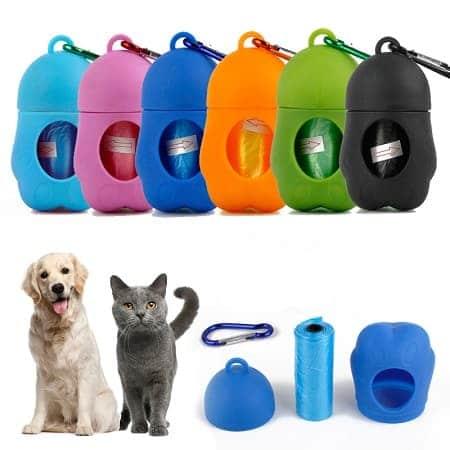 Dispensador de Sacos do Lixo Portátil para Dejectos de Animais desde Espanha a 1,83€