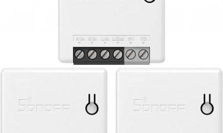 interruptores inteligente Sonoff baratos