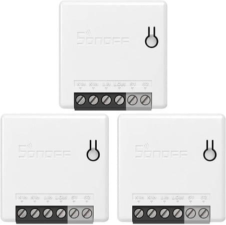 3 interruptores inteligente compatível com Google Home, Nest IFTTT e Alexa só 20€.