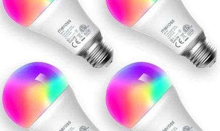 Lâmpada LED inteligente, lâmpada Wi-Fi, luzes quentes frias RGB, lâmpada regulável, multicolor