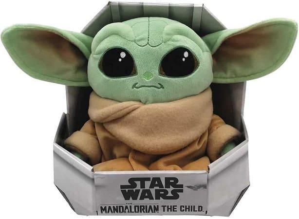 Peluche Baby Yoda da série The Mandalorian desde Espanha por 18€
