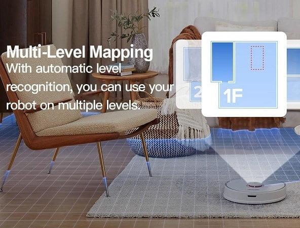 Esta imagem tem um texto alternativo em branco, o nome da imagem é Roborock-S7-Aspirador-Xiaomi-Mapeamento.jpg