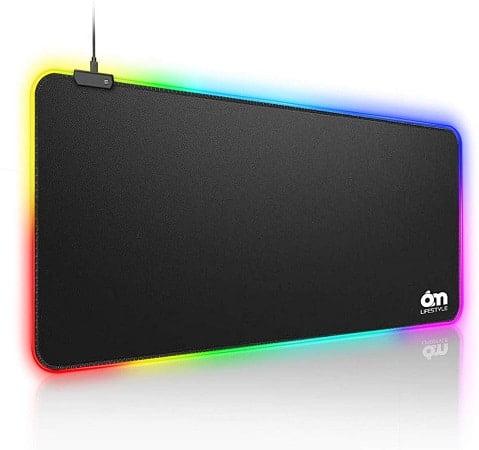 Cupom Amazon! Tapete  XL RGB 80cm desde Espanha por 11,20€