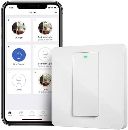 Cupom Amazon! Interruptor Inteligente WiFi por 10,99€