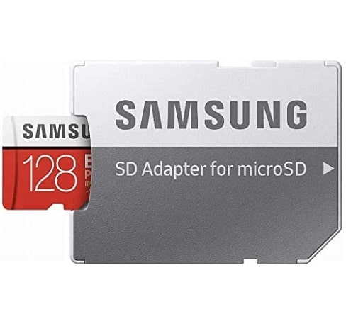 Top preço Amazon! MicroSD Samsung EVO C10 128gb +w SD Adapter Class 10 por 14,9€