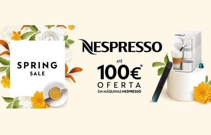 Campanha NESPRESSO! 100€ de desconto na compra de uma maquina de café.
