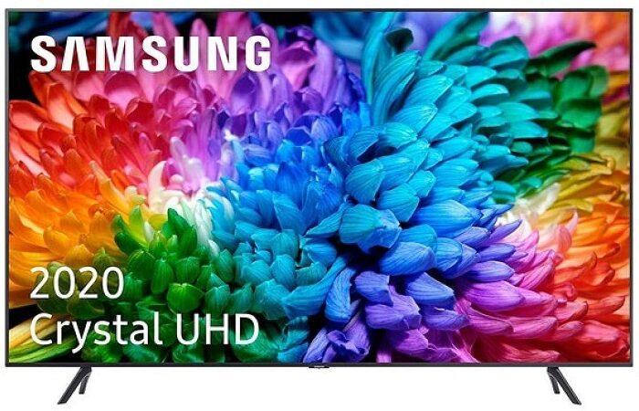 Smart TV Samsung  LED 55″ UHD Crystal 4K e HDR10+ desde Portugal a 469€