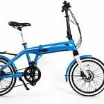 Aurotek Sintra Bicicleta Eléctrica Dobrável com 100km Autonomia por 595€
