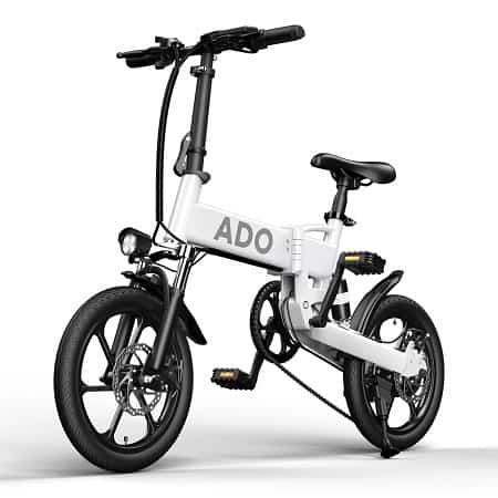 Bicla eléctrica ADO A16 Autonomia 70Km desde Europa por 546€