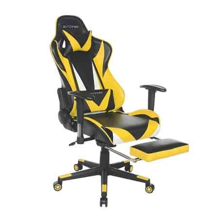 Bom preço desde a Europa! Cadeira Gaming Blitzwolf BW-GC2 a 90,6€