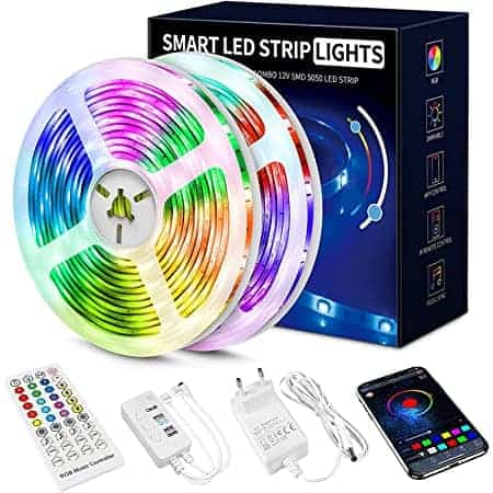 Tá caro!! Fita LED Bluetooth com 20 mt por apenas 10,79€uros