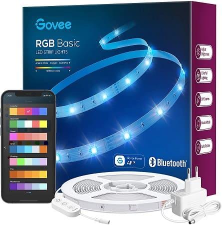 Fita LED RGB GOVEE de 10M desde Amazon Espanha por 11,55€
