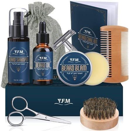 Kit 8 em 1 para o cuidado da barba desde Espanha por 14,94€