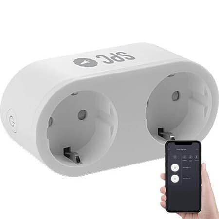 "Tomada Dupla Inteligente WiFi desde a ""TUGA"" por 13,79€"