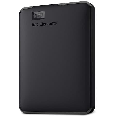 PECHINCHA Amazon! WD Elements Disco externo de 4TB por 76,3€ e o 5 TB a 84€