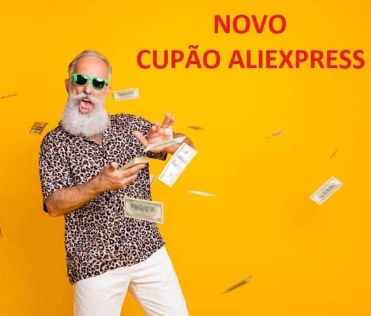 Novo cupão aleatório Aliexpress desde a APP