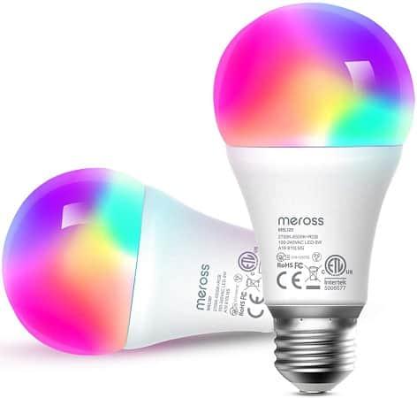 Pack de 2 Lâmpadas RGB WiFi desde Amazon Espanha a 10,3€