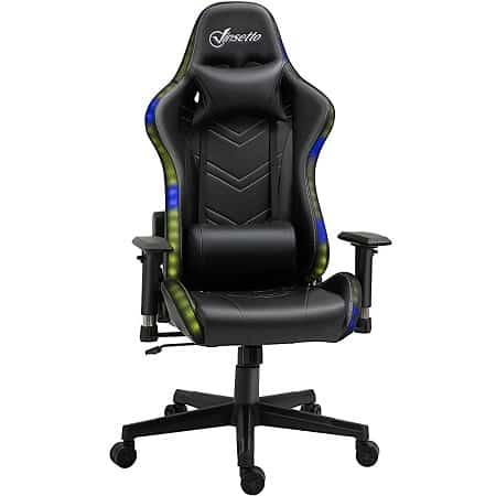 Código desconto! Cadeira Gaming com LUZES RGB desde Espanha a 79,6€