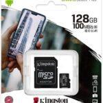 A promo está de volta! Cartão MicroSD Kingston Classe 10 128GB  + adaptador SD só 9,42€