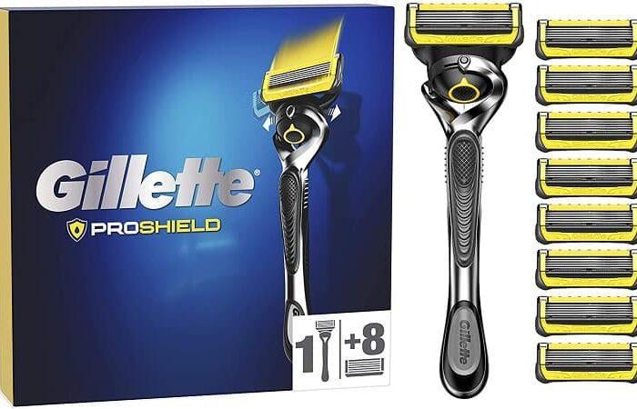 Melhor preço Amazon! Gillette ProShield Flexball + 9 Laminas só 21,5€