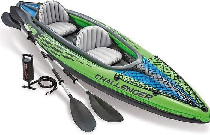 Intex 68306NP – Kayak Insuflável Challenger K2 com 2 remos por 96,18€