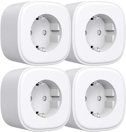 4 x Smart Plug WiFi com App e compatível com Google e Alexa por 19,99€