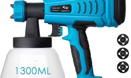 Pistola de Pintura 550W