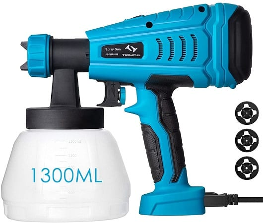 Pistola de Pintura 550W com fluxo de 1200 ml/min a 26,9€ desde Espanha