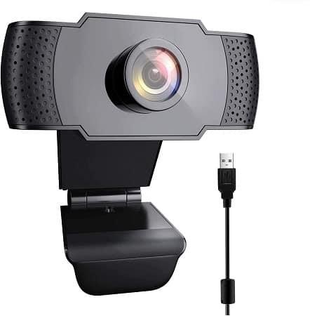 Webcam USB FULL HD 1080P com Microfone desde Amazon só 5,99€