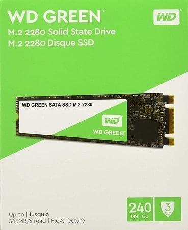 Preços mini Amazon! Western Digital SSD M.2 de 240GB só 25,95€
