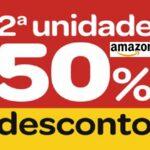 Promoção Amazon! Desconto de 50% na segunda unidade (lista Atualizada)